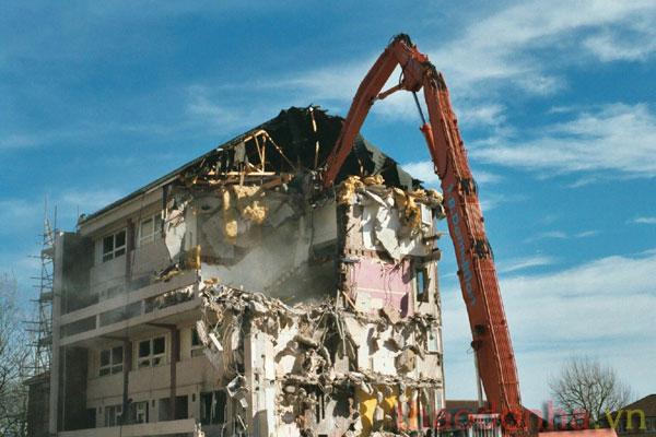 dịch vụ phá dỡ nhà tại Hà Nội
